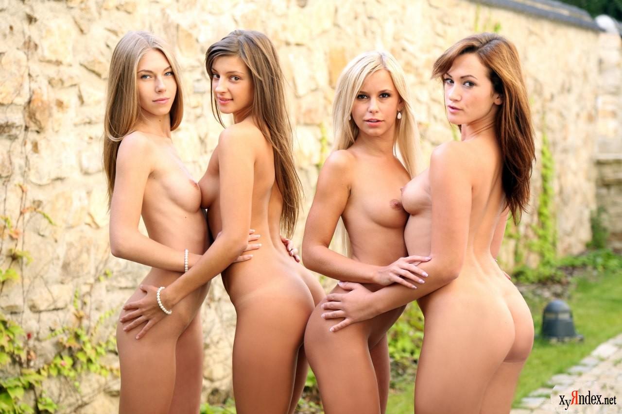Четыре сучки и один 11 фотография
