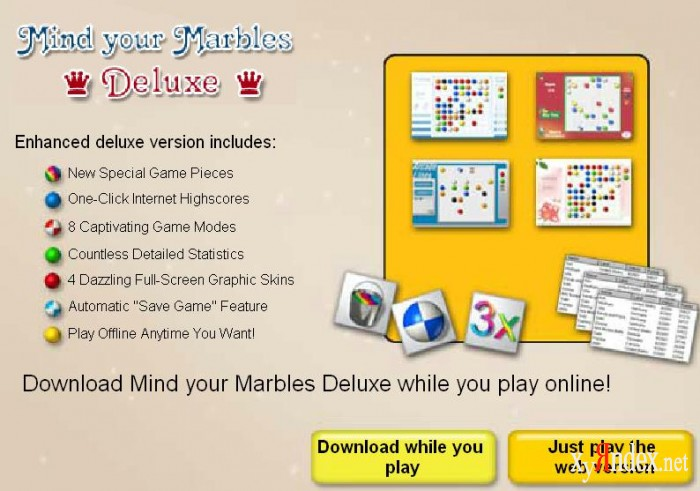 Mind your marbles deluxe