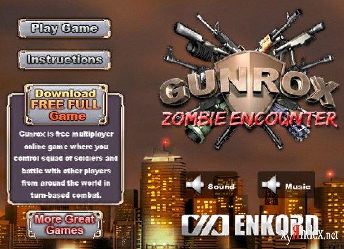 Gunrox Zombie Encounter