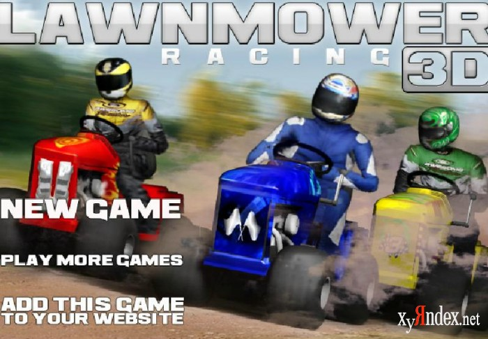 Lawnmoving racing 3D