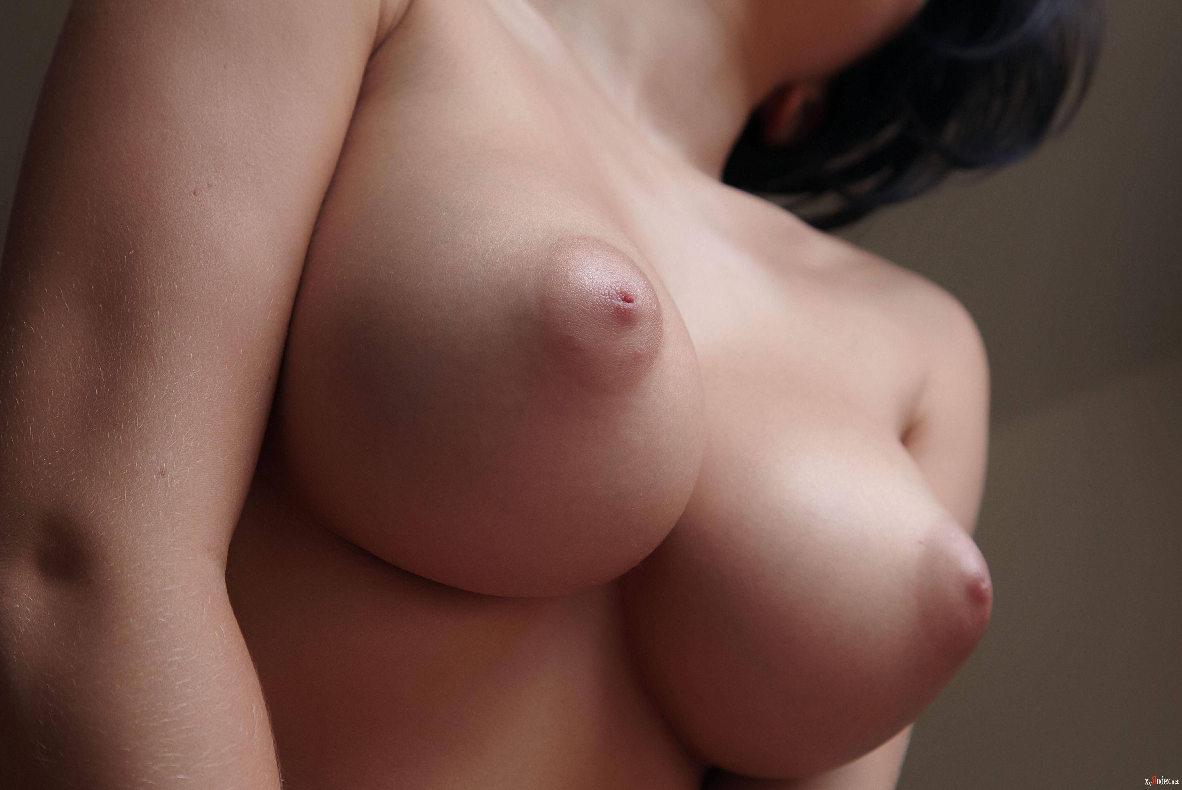 пальмы, эротика фото стоячая грудь девушка