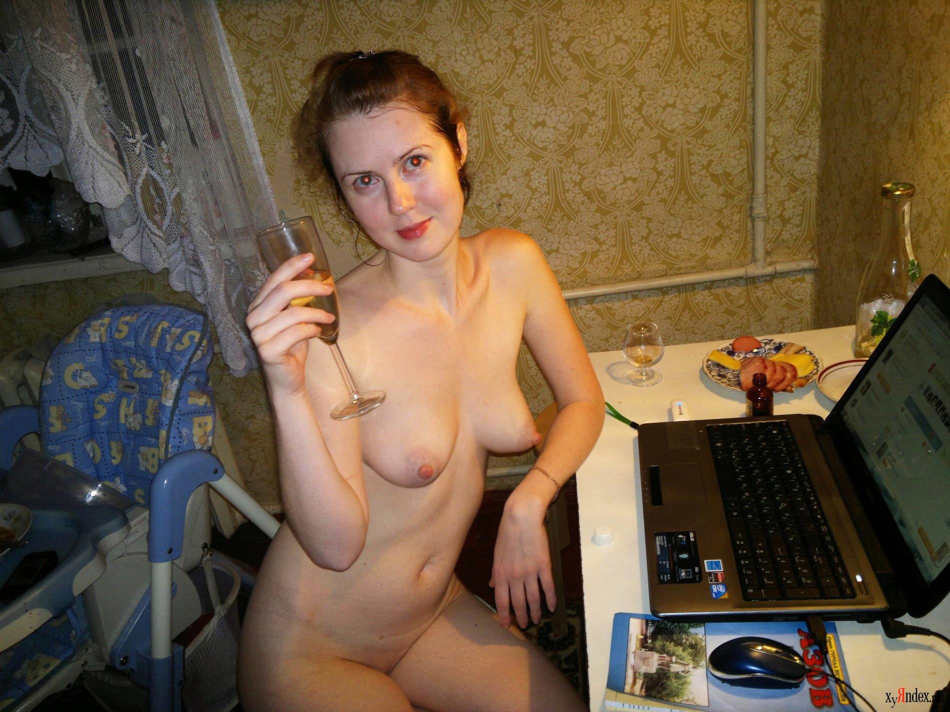 Присланное интим фото бывших жен — pic 8