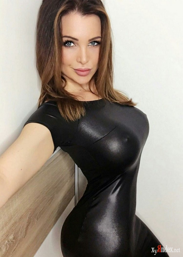 Busty beautiful women in latex
