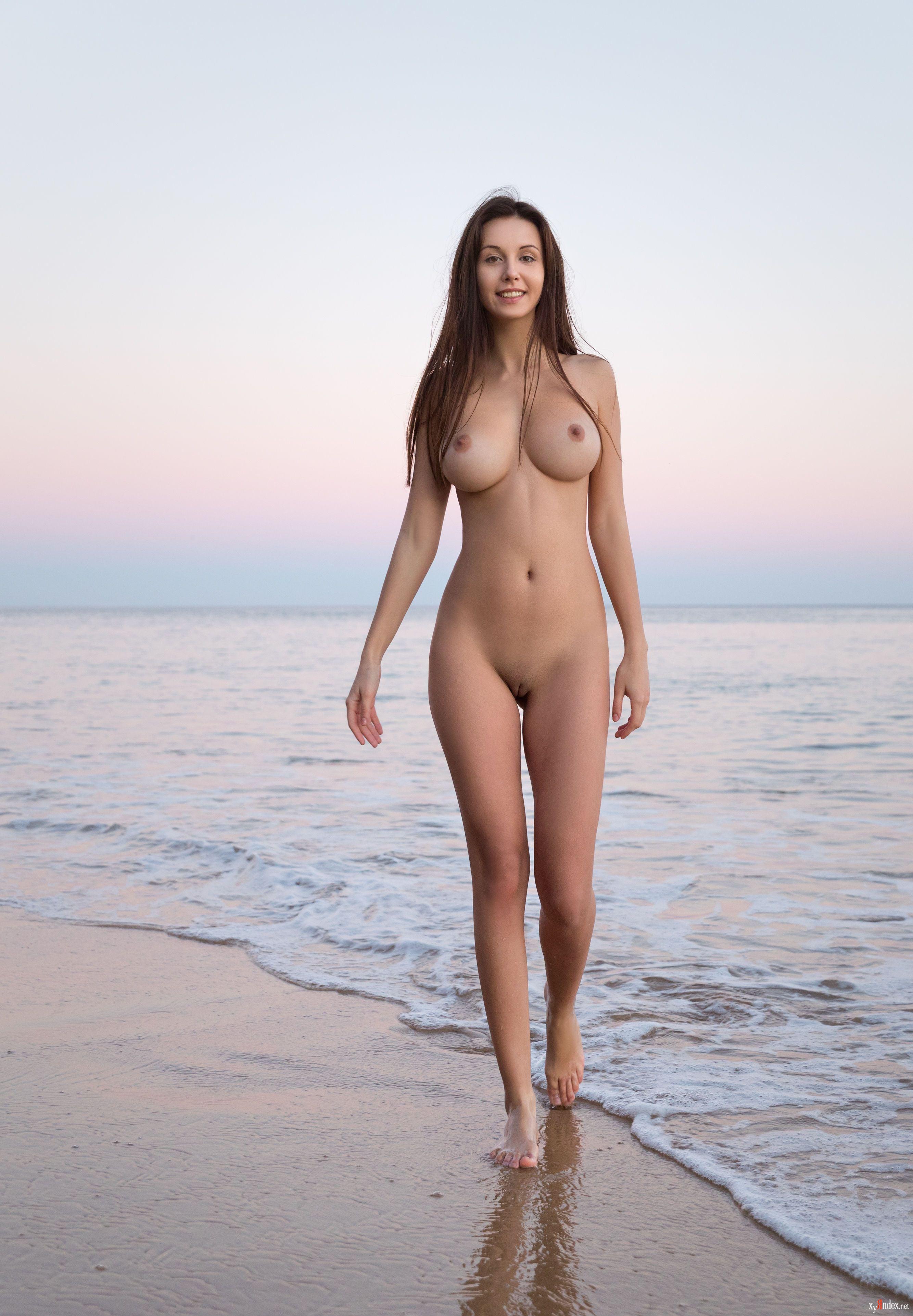 Naked sea nymph