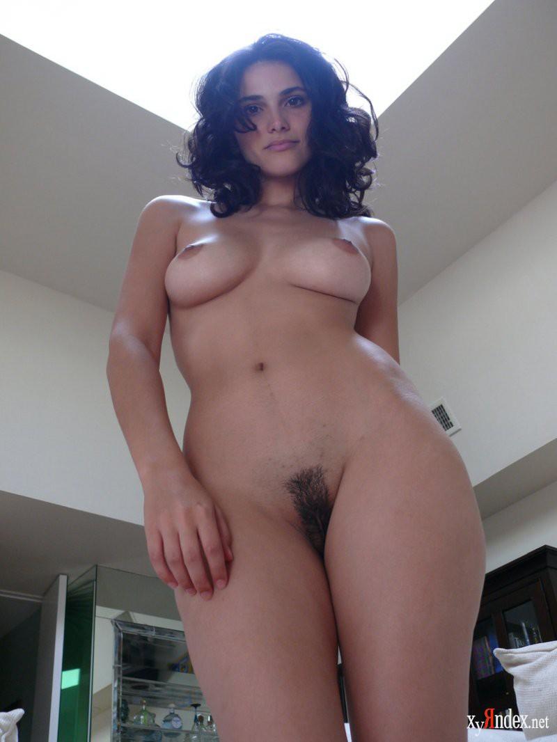 Nude black hair girl